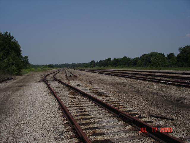 Cranesville Yard - Looking North
