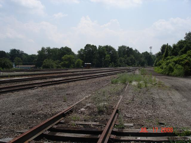 Cranesville Yard -- Looking South