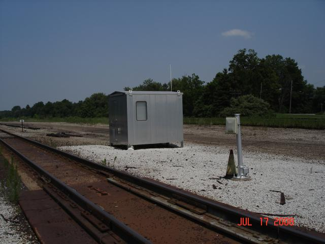 Fault Detector at Scale Track - Cranesville Yard