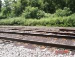 Missing Rail - South end of Cranesville Yard - N of Subway Avenue