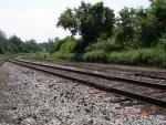 Looking West from Bessmer Mainline - Cranesville Yard - South - Missing Rails